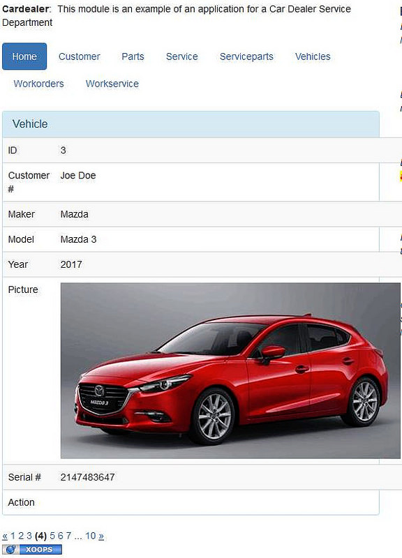 Car Dealer sample application