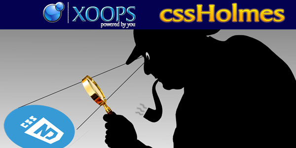 XOOPS cssHolmes 1.3 Beta 1