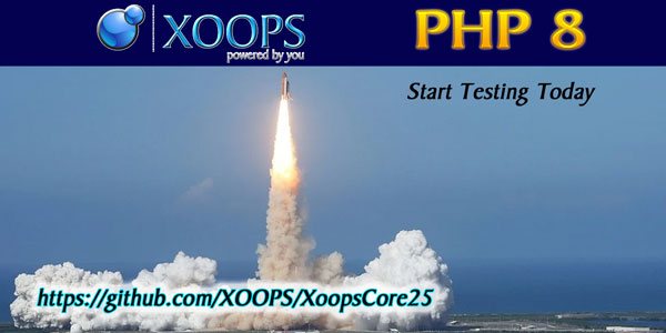 XOOPS and PHP8