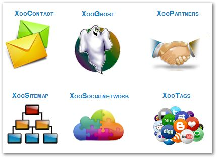 6 Modules for XOOPS 2.6.0 added to GitHub (Alpha version)
